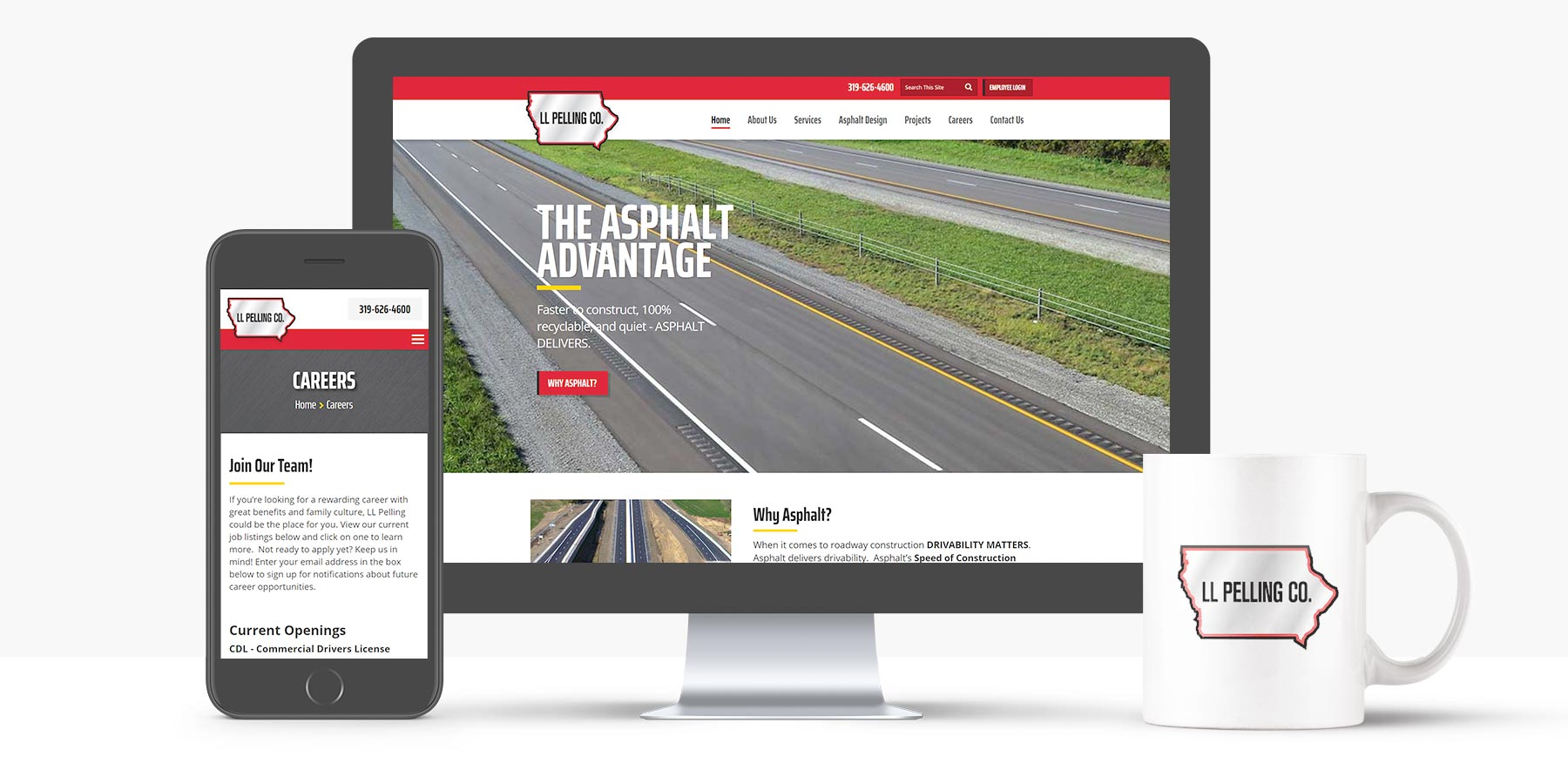 LL Pelling Website Redesign