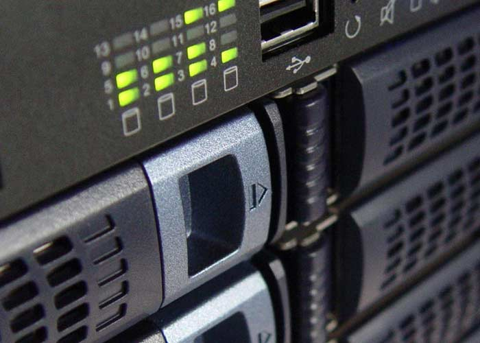 Managed hosting server