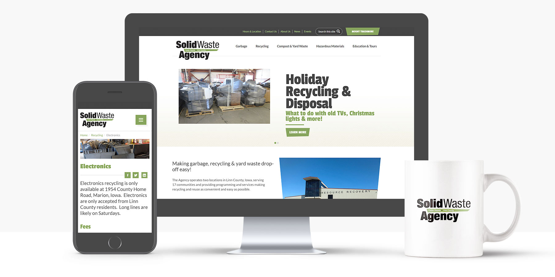 Solid Waste Agency Website Redesign
